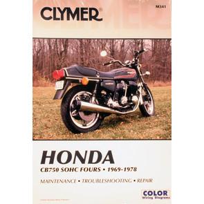 CM341 - 69-78 Honda CB750 SOHC Fours Repair & Maintenance manual