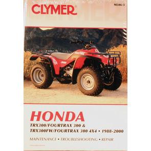 CM346 - 88-00 Honda TRX300 & TRX300FW Repair & Maintenance manual