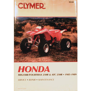 CM348 - 85-89 Honda ATC/TRX250R Repair & Maintenance manual.
