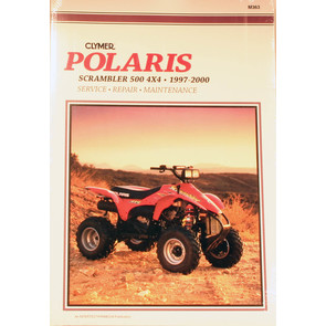 CM363 - 97-00 Polaris P500L Scrambler 4x4 Repair & Maintenance manual.