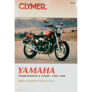 CM388 - 86-90 Yamaha YX600 Radian & FZ600 Repair & Maintenance manual