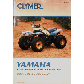 CM394 - 83-86 Yamaha YTM/YFM200 & 225 Repair & Maintenance manual.