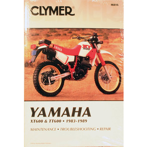 CM416 - 83-89 Yamaha XT600 & TT600 Repair & Maintenance manual