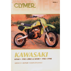 CM444 - 83-02 Kawasaki KX60 & 83-90 KX80 Repair & Maintenance manual