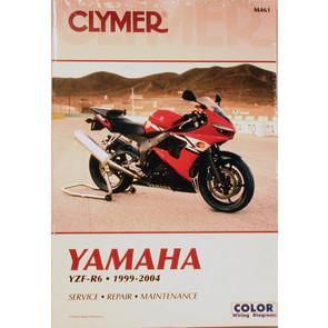 CM461 - 99-04 Yamaha YZF-R6 Repair & Maintenance manual