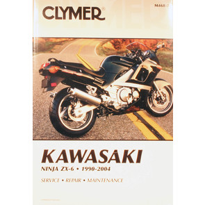CM468 - 90-04 Kawasaki Ninja ZX-6 Repair & Maintenance manual