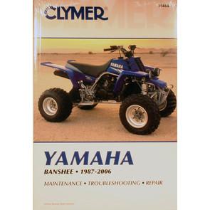 CM486 - 87-06 Yamaha YFZ350 Banshee Repair & Maintenance manual.