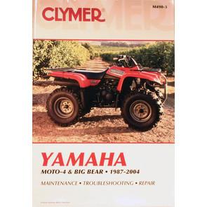 CM490 - 87-04 Yamaha Moto-4 & Big Bear Repair & Maintenance manual.