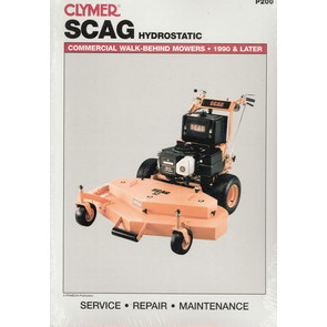 Scag Commercial Walk-Behind Mowers Service Manual (1990-later)