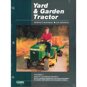 Yard & Garden Tractor Service Manual - Multi-Cylinder Models (Volume 2)