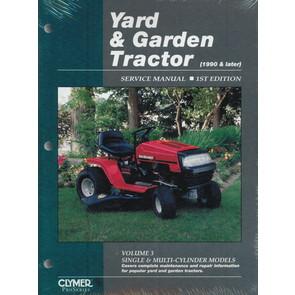 Yard & Garden Tractor Service Manual - Single & Multi-Cylinder Models(1990 & Later) (Volume 3)