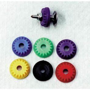 675-102-80 - 7mm Diamond Backers 144 pkg Black