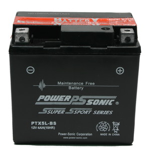 PTX5L-BS - Sealed maintenance free batteries. Acid pack included
