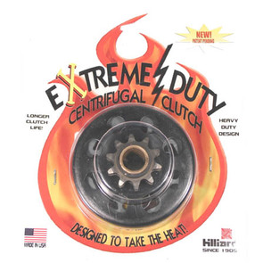 "H3441 (LD4S-4L) - Hilliard Extreme Duty Centrifugal Clutch. 3/4"" bore, 10 tooth, 40/41 chain"