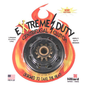 "H5835 - Hilliard LD4S-7L Extreme Duty Centrifugal Clutch. 5/8"" bore, 12 tooth, 35 chain"