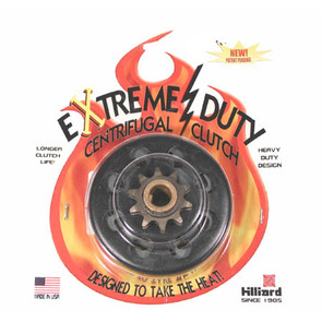 "H5841 - Hilliard Extreme Duty Centrifugal Clutch. 5/8"" bore, 10 tooth, 40/41 chain"