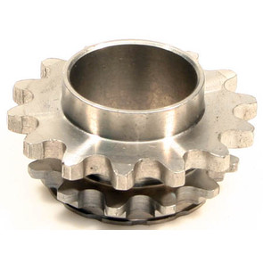 HI1435-W1 - # 8: 14 tooth, #35 replacement sprocket for Hilliard FURY Clutches