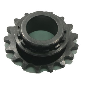 HI1735-B - 17 tooth, #35 replacement sprocket for Hilliard Clutches (new bearing style)
