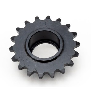 HI1835-B 18 tooth, #35 replacement sprocket for Hilliard Clutches (new bearing style)