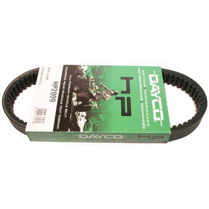 HP2009 - Dayco High Performance Belt. Replaces 36398-82 belt on 82-91 AMF, Columbia & Harley Davidson Gas Golf Carts