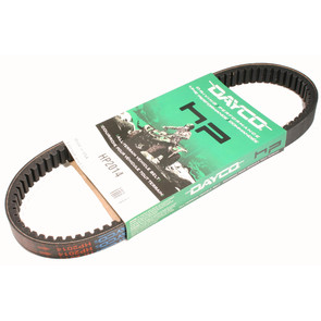 HP2014 - Dayco High Performance Belt. Replaces 72054-G01 belt on 95-03 E-Z Go Gas Golf Carts.