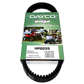 HP2035-W1 - Dayco High Performance ATV Belt. Fits John Deere Buck 500 Auto & Trail Buck Utility ATV
