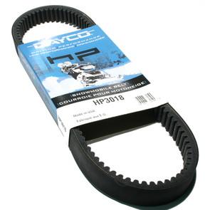 HP3018-W2 - Mercury Dayco HP (High Performance) Belt. Fits 72-75 Mercury Snowmobiles.