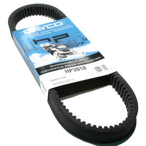 HP3018 - Arctic Cat Dayco HP (High Performance) Belt. Fits many low to mid power 74-81 Arctic Cat Snowmobiles.