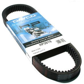 HP3019 - Ski-Doo Dayco HP (High Performance) Belt. Fits 76-00 low power Ski Doo Snowmobiles.