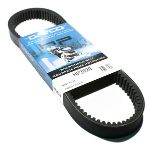 HP3020-W1 - Manta Dayco HP (High Performance) Belt. Fits 85-86 Manta Snowmobiles.
