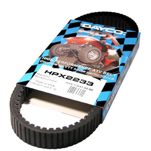 HPX2233 - Yamaha Dayco HPX (High Performance Extreme) Belt. Fits 01 & newer Grizzly & Rhino models.