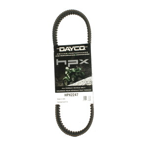 HPX2247 - John Deere Dayco HPX (High Performance Extreme) Belt. Fits Gator XUV 620i and 625i UTV.