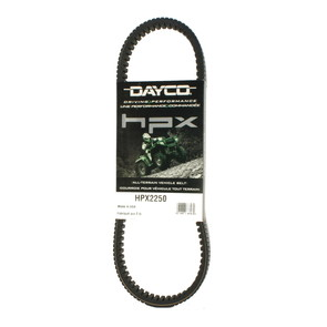 HPX2250 - John Deere Dayco HPX (High Performance Extreme) Belt. Fits 550 Gator UTV