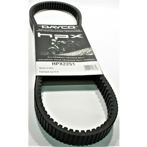 HPX2251 - John Deere Dayco HPX (High Performance Extreme) Belt. Fits some 2005-15 Gator models