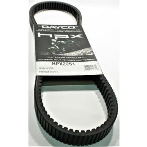 HPX2251 - John Deere Dayco HPX (High Performance Extreme) Belt. Fits some 2005-15 Gator models
