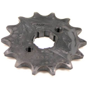 KS003311 - Honda ATV 14 tooth front sprocket. Fits: 85-86 ATC 350X.