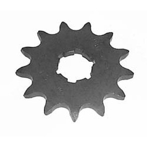 KS003678 - Yamaha ATV 13 tooth front sprocket. Breeze, Tri-Moto, Warrior, Banshee, 350 Raptor