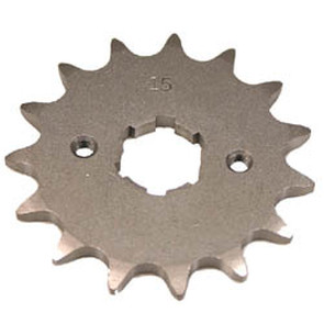 KS003680 - Kawasaki ATV 15 tooth front sprocket. Fits 87-88 KXF250-A Tecate.