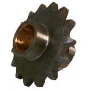 KS003821 - Honda ATV 15 tooth front sprocket. Fits: 74-78 ATC90, & 79-83 ATC110.