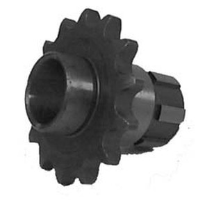 KS003826 - Honda ATV 14 tooth front sprocket. Fits 84-85 ATC125 & 85-86 TRX125.