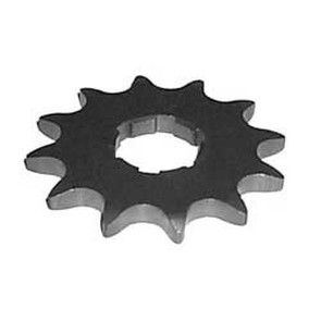 KS003860-W1 - Yamaha ATV 12 tooth front sprocket. Fits Breeze, Warrior, Banshee
