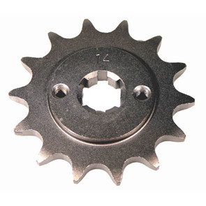 KS004986 - Yamaha ATV 14 tooth front sprocket. Fits 88-01 YFS200 Blaster