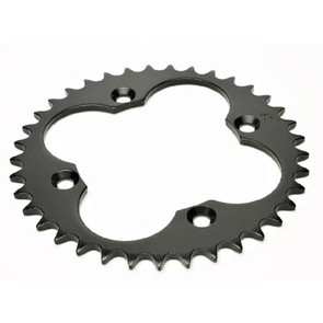 KS007077 - Honda ATV 37 tooth rear sprocket. Fits ATC250R/TRX250R, TRX300EX, etc