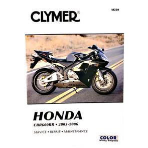 CM220 - 03-06 Honda CBR600RR Repair & Maintenance manual