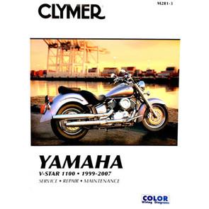 CM281 - 99-09 Yamaha V-Star, XVS1100, XVS1100A Repair & Maintenance manual