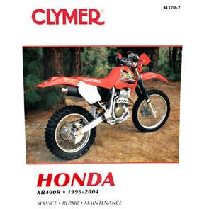 CM320 - 96-04 Honda XR400R Repair & Maintenance manual