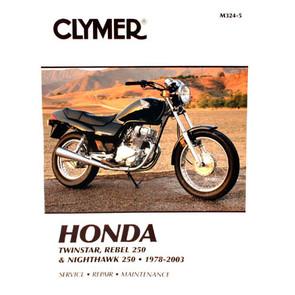 CM324 - 78-03 Honda Twinstar, Rebel 250, Nighthawk 250 Repair & Maintenance manual