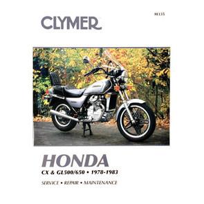 CM335 - 78-83 Honda CX, GL500 & GL650 Twins Repair & Maintenance manual