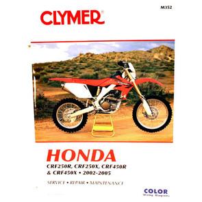 CM352 - 02-05 Honda CRF250R, CRF250X, CRF450R, & CRF450X Repair & Maintenance manual