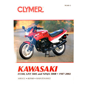 CM360 - 87-02 Kawasaki EX500, GPZ 500S, and Ninja 500R Repair & Maintenance manual